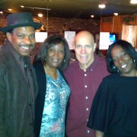 Reg & Earl Williams, Johnnie Nathan and Cheryl Williams-Booker